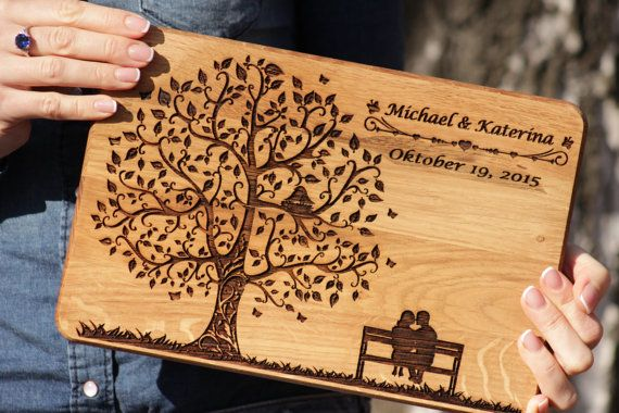 Personalized  Wedding Cutting Board, Wedding gift cutting board, Personalized gift for the couple, cutting board weddding gift, gift for Her