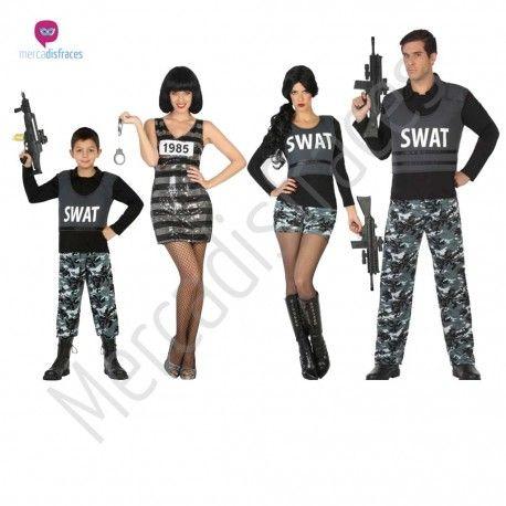 Disfraz #Policía Swat Infantil #disfraces para #grupos #comparsas en #mercadisfraces.es tu #tienda de #disfraces #online