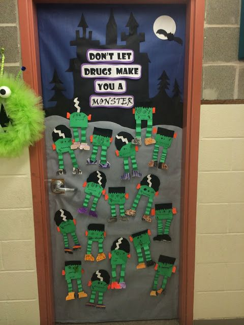 Great idea for Red Ribbon week which is right before Halloween.  Love it.