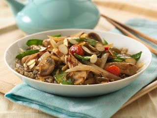 Let It Be: Asian Pork and Vegetable Stir Fry *