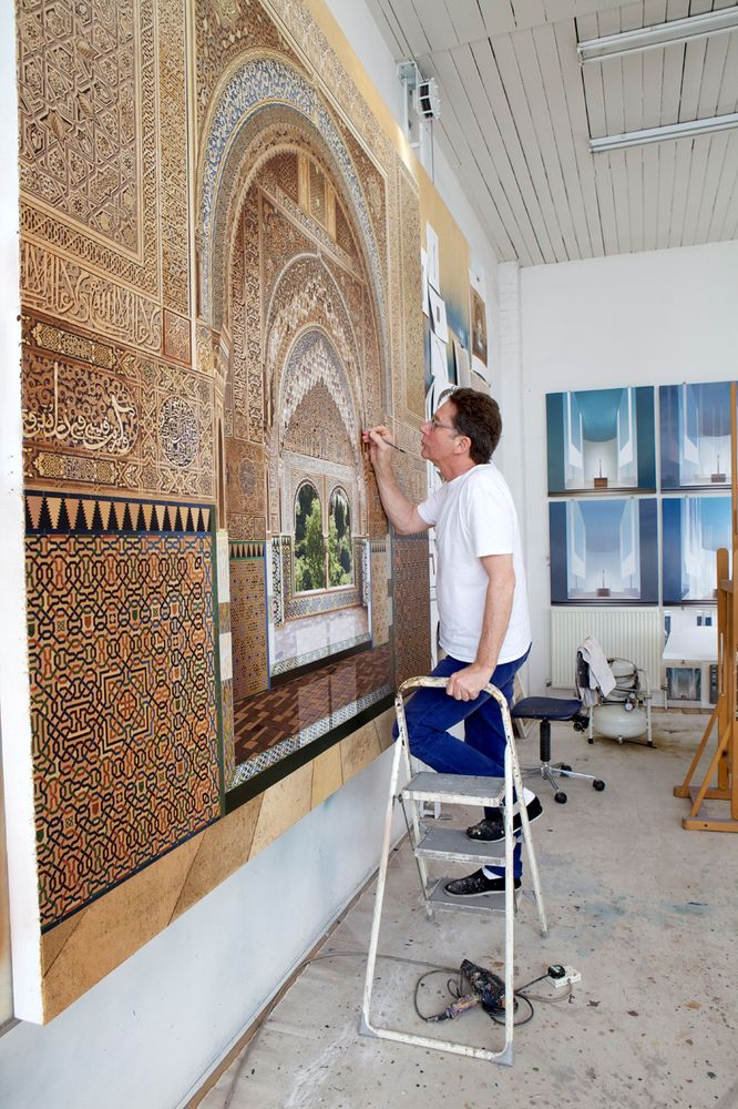 Gallery - How Painter Ben Johnson Takes Architectural Representation to Incredible Levels of Realism - 18