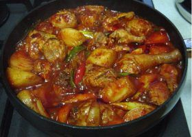 Spiced Chicken Stew