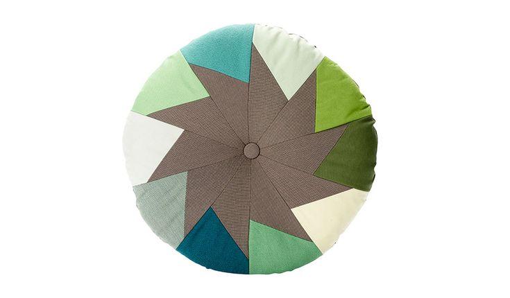 MONOQI | Ferfera Cushion - Green