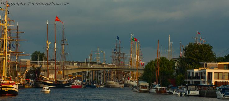 From tall ship race in Fredrikstad 2014.