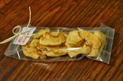 Patatine di mele mele disidratate croccanti Apple chips