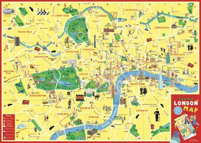 The Adventure Walks London Map | Travel wishes | Pinterest ...