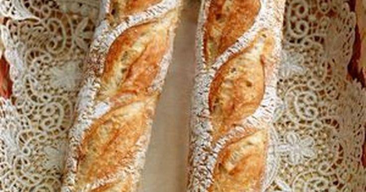 フランスパン用強力粉が無くても大丈夫!サクッと食感が楽しめます♪ 13/4/23レシピポイント追加。