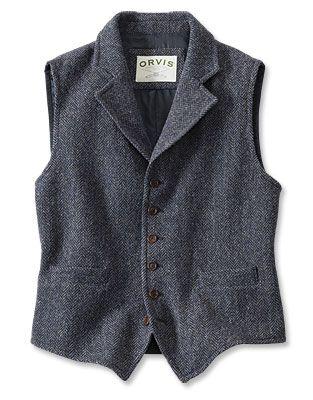 Just found this Lightweight Tweed Vest - Lightweight Highland Tweed Casual Vest -- Orvis on Orvis.com!