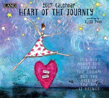 Heart Of The Journey 2017 Wall Calendar , 17991001983 | Lang