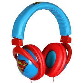 Superman Headphones / Sluchátka
