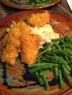 Baked Panko Crusted Cod Sticks - I lost 30 lbs. making recipes like this!  #SouthBeach #skinny
