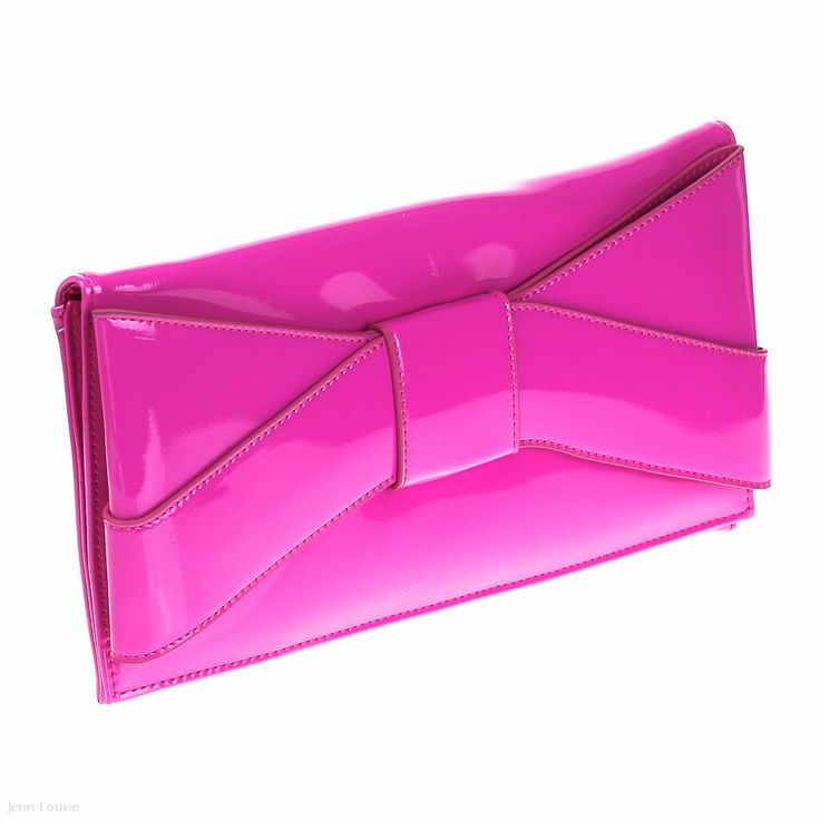 Envelope Clutch (Fuschia)
