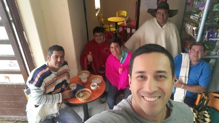 Inside Quintana's House...  Combita - Boyacá...  you must come and drink Aguapanela with Almojabana.