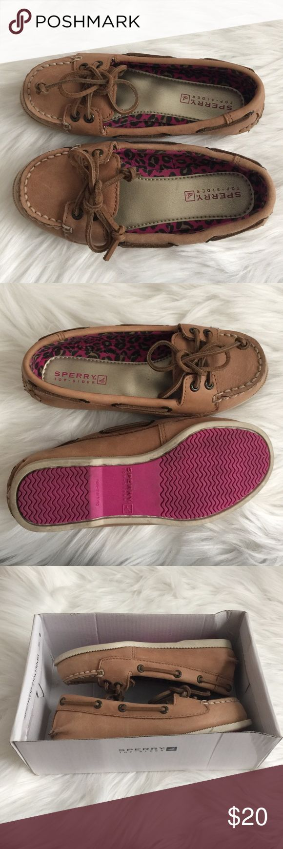 Sperry's for girls size 10 1/2 for preschoolers Barely worn, exactly as seen in the photos. Size 10 1/2 for preschooler; for girls Shoes Dress Shoes