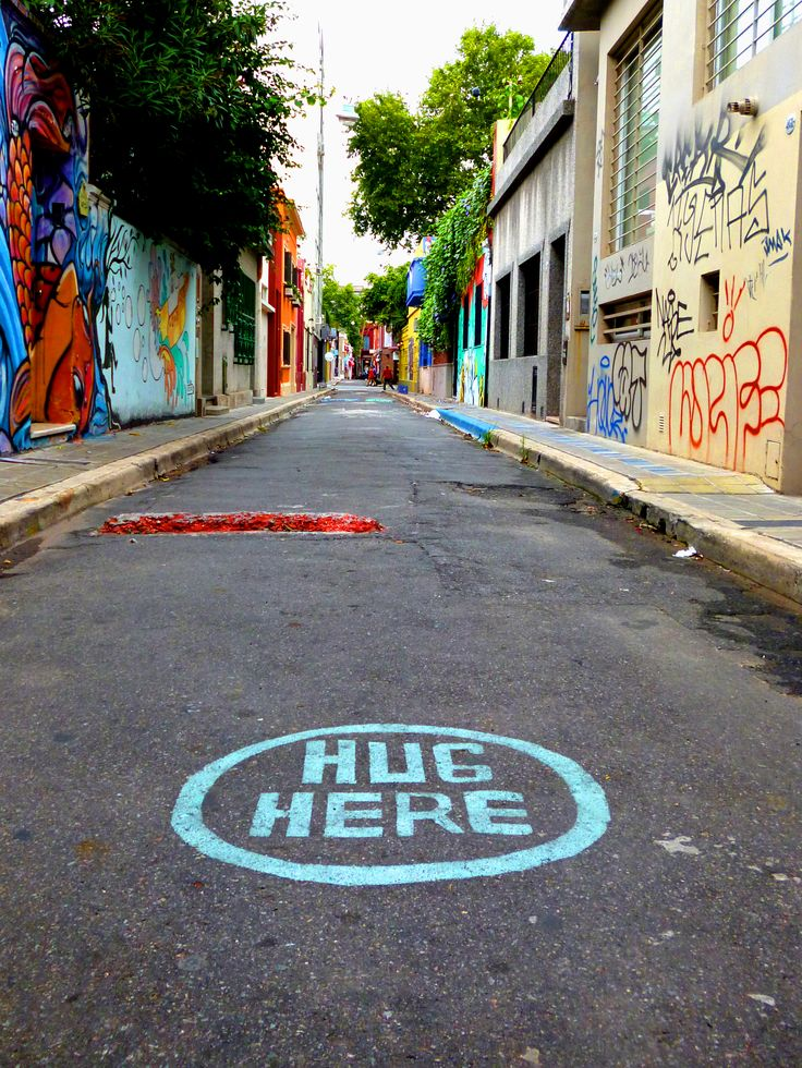 Hug Here | Palermo, Buenos Aires