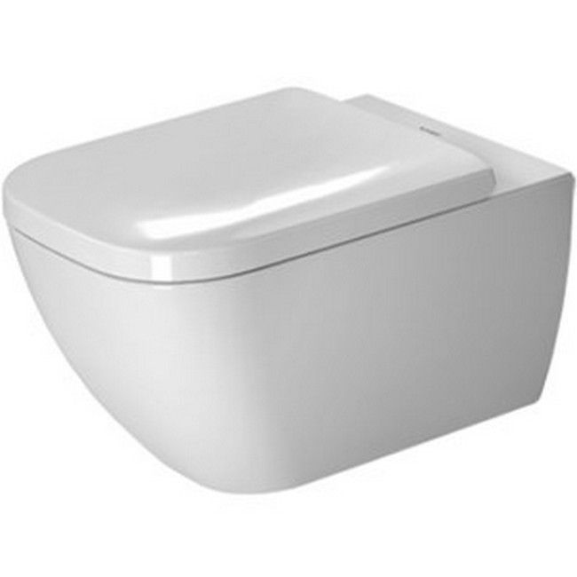 Duravit Rimless Toilet Wall-mounted 14 3/8-inch x 21 0.25-inch Alpin