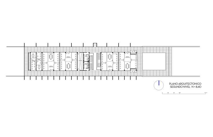 Imagen 39 de 43 de la galería de TecniA Instituto de Biotecnología / Augusto Quijano Arquitectos. Planta 2do Nivel