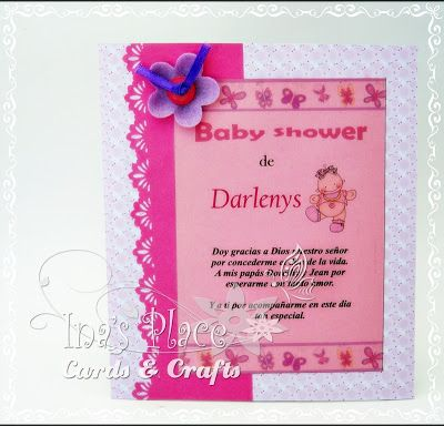 Baby Shower en rosa!!