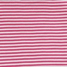 Interlock Stripes - Rapture Rose and White