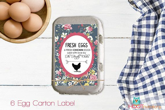 25 best ideas about egg packaging on pinterest for Egg carton labels template