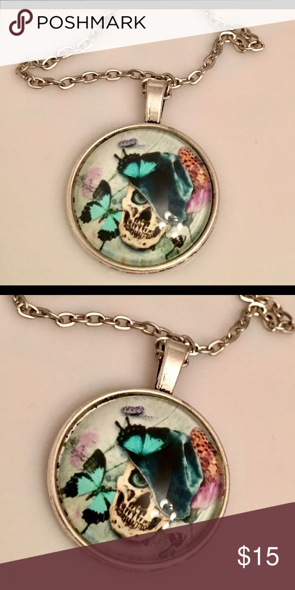 CANDY SKULL NECKLACE SUPER COOL COLLECTORS CANDY SKULL NECKLACE! MyCelle21 Jewelry Necklaces