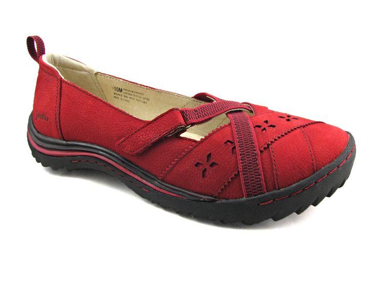Jambu Quot Hayley Quot Size 10 M Women S Shoe Red Leather Strap