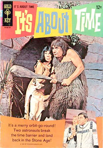 """Two for One! It's About Time, another """"lost in space"""" TV show (only a comedy instead of a drama) & Gold Key Comics. 12 cents. (And they were comic books, not graphic novels...)"""