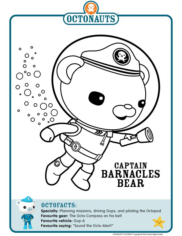 28 best images about octonauts on pinterest pictures of for Disney junior octonauts coloring pages