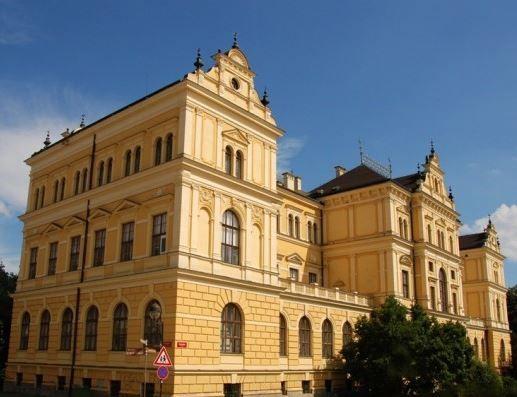 South Bohemian museum in České Budějovice, Czechia #museum #city #czechia