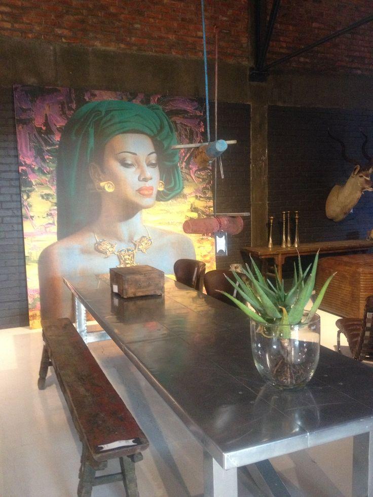 "Tretchikoff ""Balinese Girl"" seen in Weylandts."