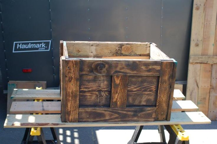 Static: Pallet wood Treasure chest and Jewelry box. | Wood ...
