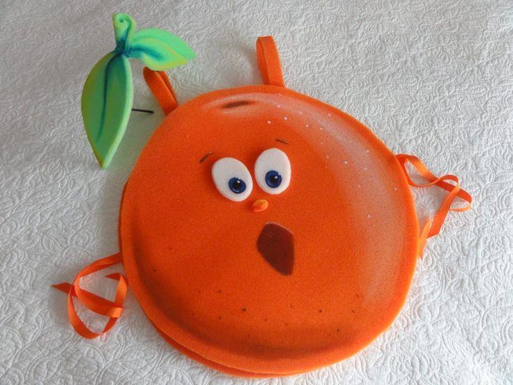 Resultado de imagen de disfraz de naranja fruta
