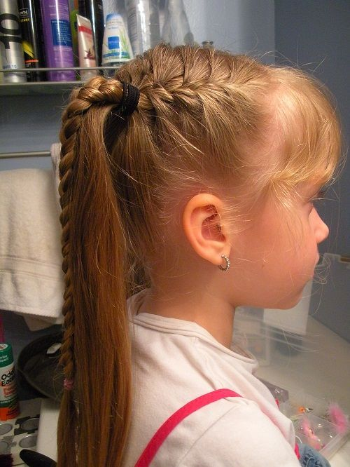 Kids Hairstyles For Girls Best 9 Best Hairstyles For The Kids Images On Pinterest  Girls Hairdos