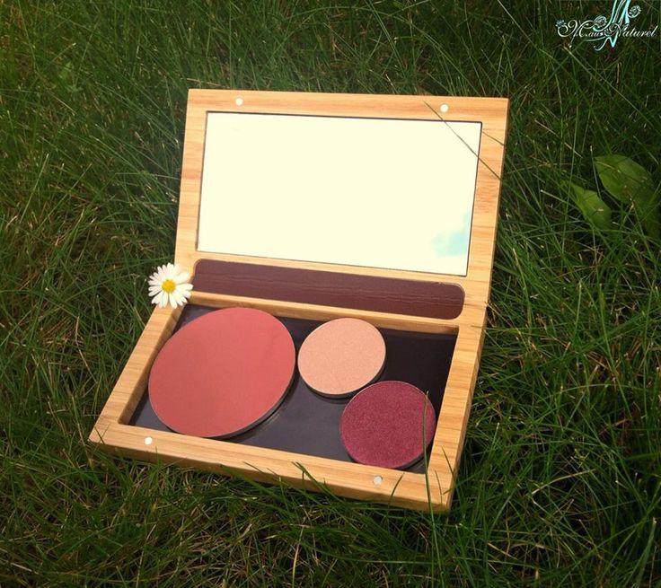 ZAO spiegel leuk voor in u handtas met u juiste kleuren voor de make-up voor die dag