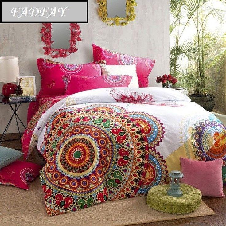 bohemian duvet covers queen boho style bedding set exotic wedding bedding sets