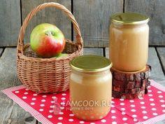 Яблочное пюре в мультиварке на зиму