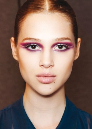 Purple shadow at Frankie Morello