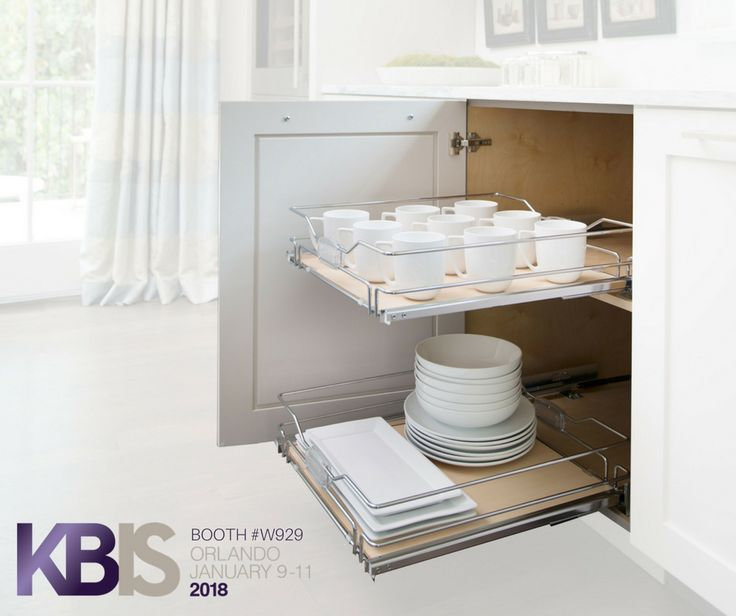 Solid Bottom Pullout Shelves are as versatile as they are beautiful. Conveniently store items in every room of the house with Rev-A-Shelf's 5530 Series. | https://www.rev-a-buzz.com/profile/5330