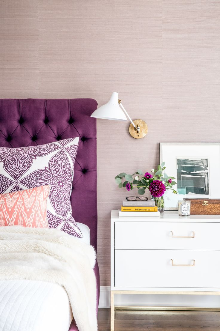 1000 ideas about purple interior on pinterest interior colors exterior colors and interiors - Modern purple bedroom colors ...