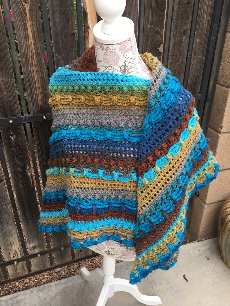 Ready to Ship!! Lost in Time Shawl, Earth Tone Shawl, Scalloped Shawl, Perfect Shawl for Fall by BaddGirlCrochet on Etsy https://www.etsy.com/listing/546745879/ready-to-ship-lost-in-time-shawl-earth