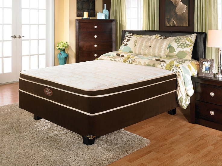 springwall discovery foam eurotop queen mattress and boxspring set