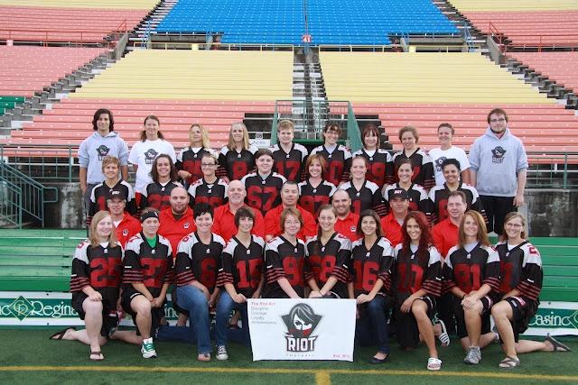Regina Riot a team in the WWCFL.com