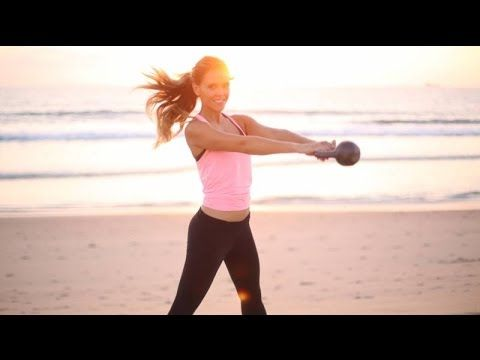 Toning Class: Yoga With Kettle Bells (Video)