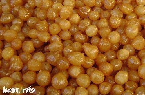 Сладкие шарики из теста в сладком сиропе «Awwamat»