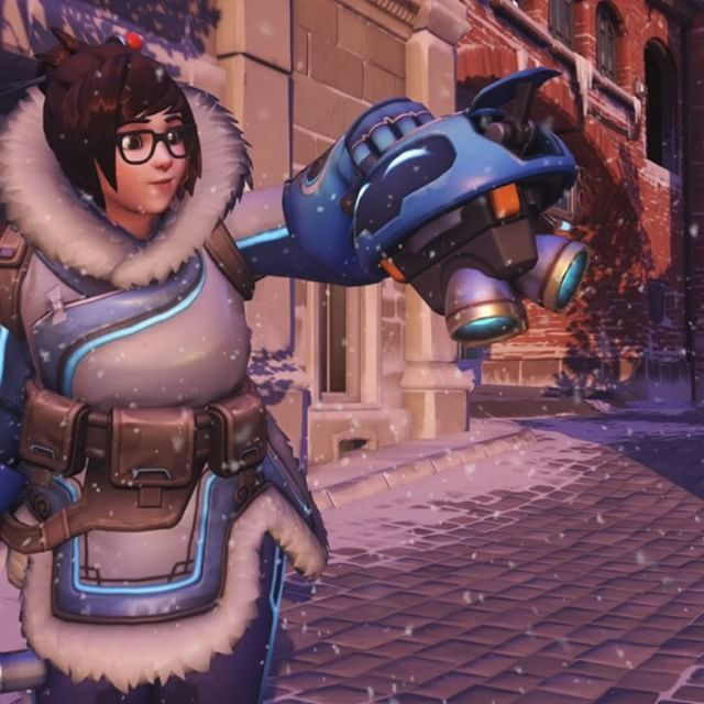 Mei spending quality time with her robot Snowball while it snows. Let it snow let snow let it snow. I added a snow fall effect to an official Overwatch screenshot from Blizzard Entertainment. Just kept it simple. Hope you enjoy! with this new photo editing software. #overwatch #overwatchgame #mei #snowball #overwatchsnowball #robot #cold #meioverwatch #overwatchmei #photoedit #photoeditor #photoedits #photoeffects #sfx #effect #effects #photoeffect #snow  #snowing #snowfall…
