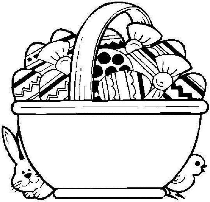 Best Animal Images On Pinterest Coloring Books Colouring - Spring basket coloring page