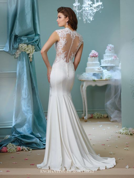 Enchanting gown 216158 from Mon Cheri is available at Sincerely, The Bride located in the Vancouver, WA Portland Metro area. #sincerelythebride #oregonbride #nwbride