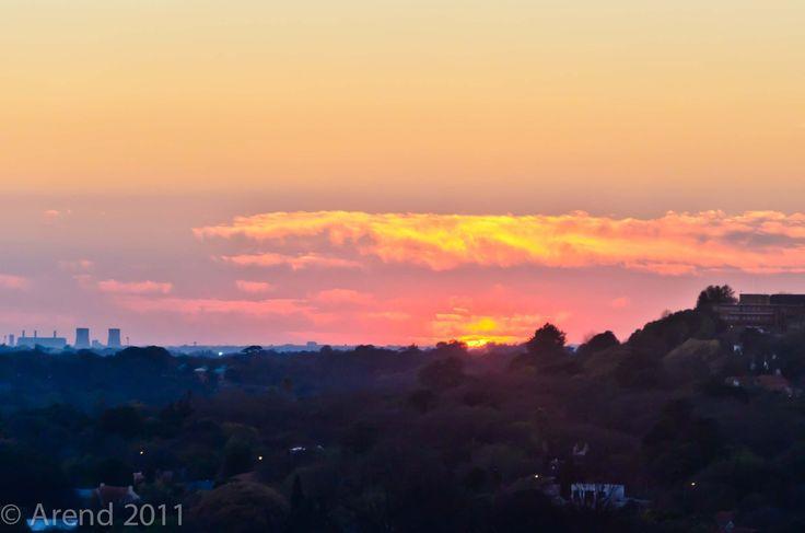 Sunrise over Jozi 1 by Arend van der Walt on 500px