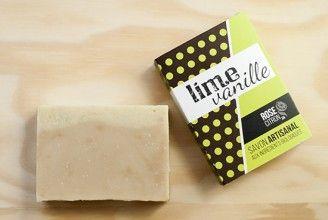LIME et VANILLE - Savon biologique / organic soap