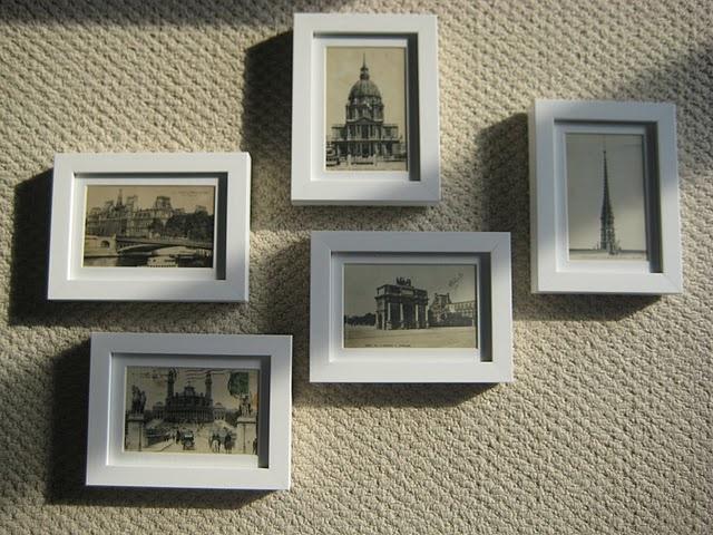 1 Frame Postcards 2 Hang Postcards On Wall 3 Consider